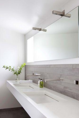 modern wonen badkamer