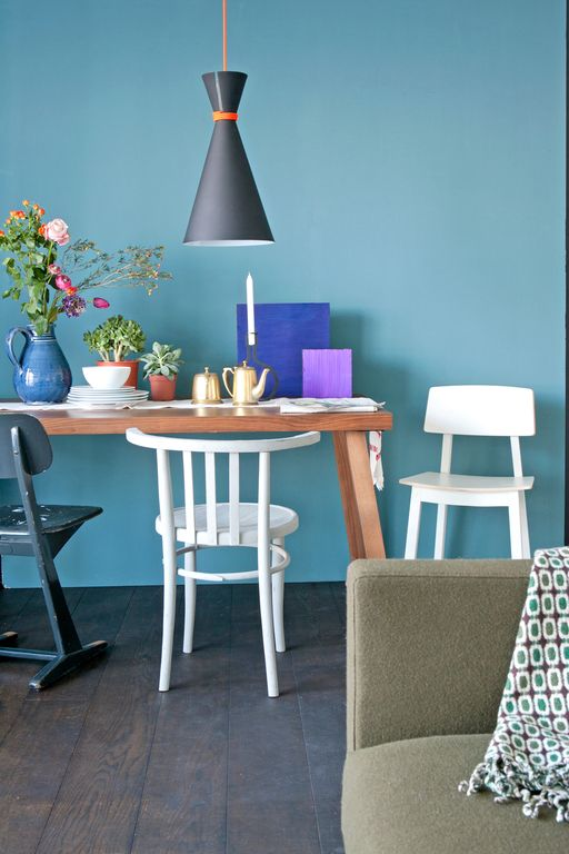 Gekleurde muren - Interieur Insider