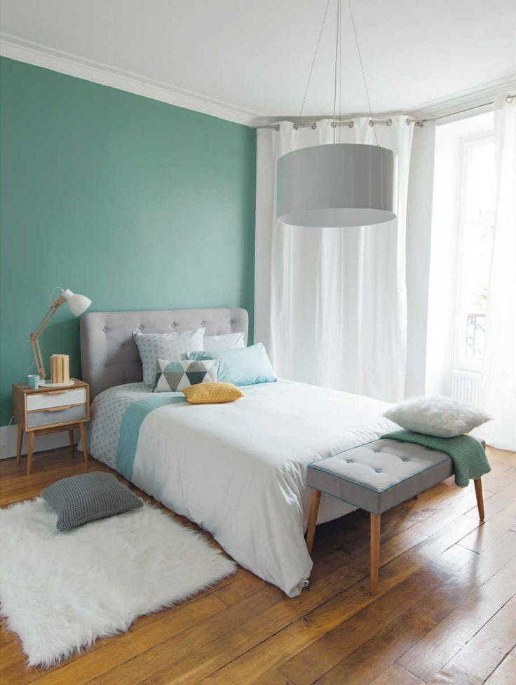 Gekleurde muren interieur insider - Kleur van de muur kamer verf ...