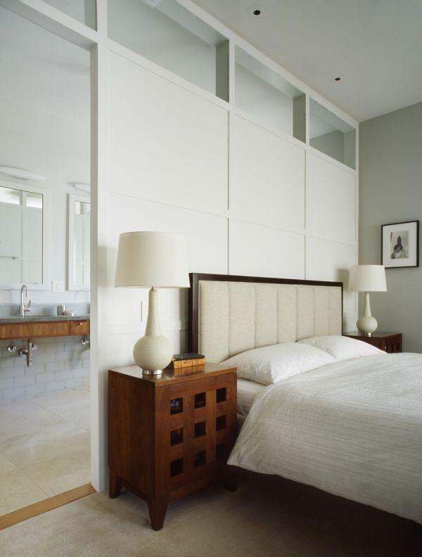 Moderne slaapkamer inrichting - Eigentijdse nachtkastje ...