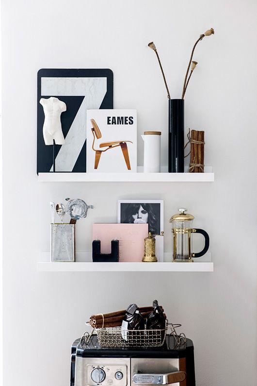 Keuken decoratie plank for Interieur decoratie winkels