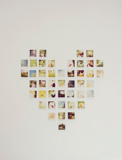 Heart Wall Decor With Pictures : Foto ophangen idee?n interiorinsider