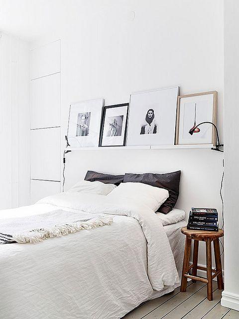 Scandinavische slaapkamer