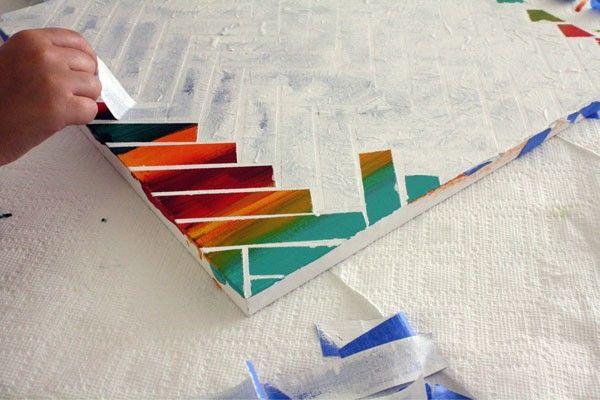 Abstract schilderij maken