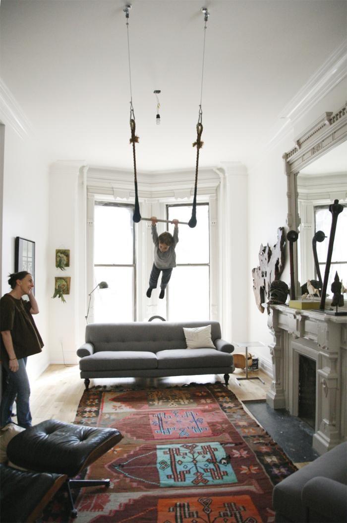 Knus interieur - Mezzanine woonkamer ...