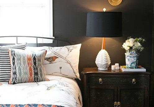 Kleur in de slaapkamer