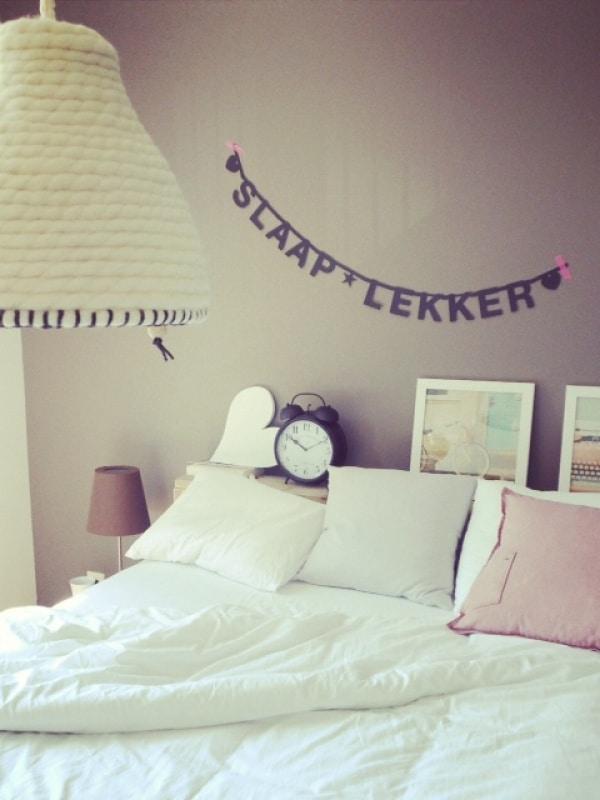 Decoratie slaapkamer interieur insider - Muur decoratie slaapkamer ...
