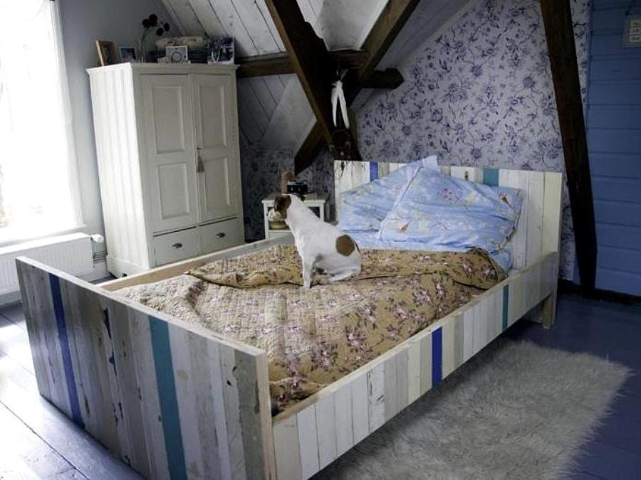 Twijfelaar bedden interieur insider - Romantische witte bed ...