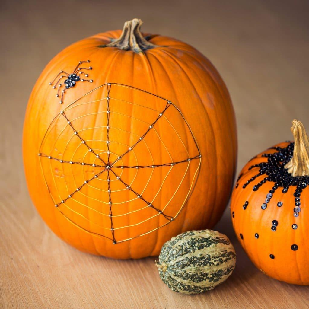 spider-web-pumpkin