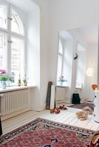 Kleine slaapkamer for Spiegels zonder lijst