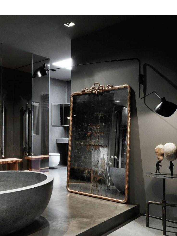 Grote spiegels interieur insider - Grote woonkamer design spiegel ...