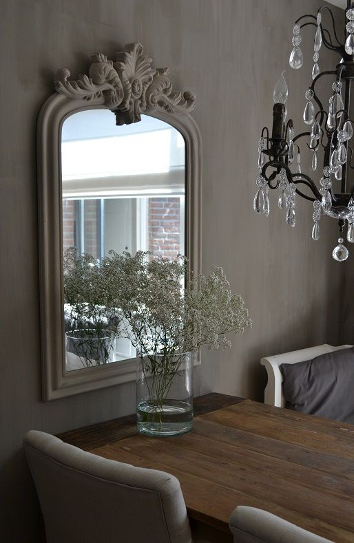 Spiegel in woonkamer interieur insider - Spiegel voor ingang ...