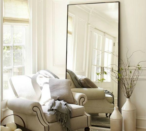Spiegel in woonkamer interieur insider - Designer woonkamer spiegel ...