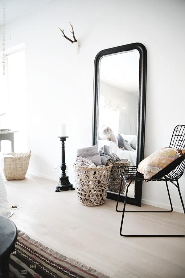 Grote spiegels interieur insider - Woonkamer spiegel ...