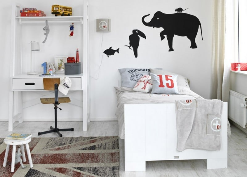 Slaapkamer jongen een slaapkamer voor stoere kleuter interieur design by nicole slaapkamer - Thema slaapkamer meisje ...