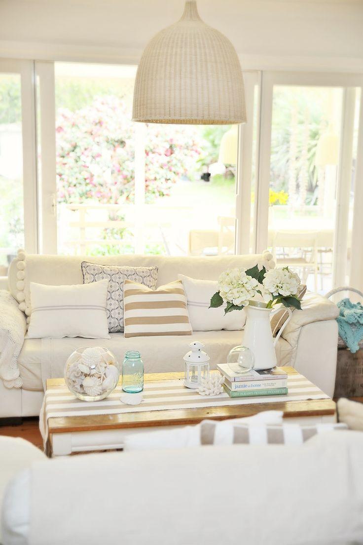 32 Best Beach House Interior Design Ideas And Decorations: Strandhuis Inrichting