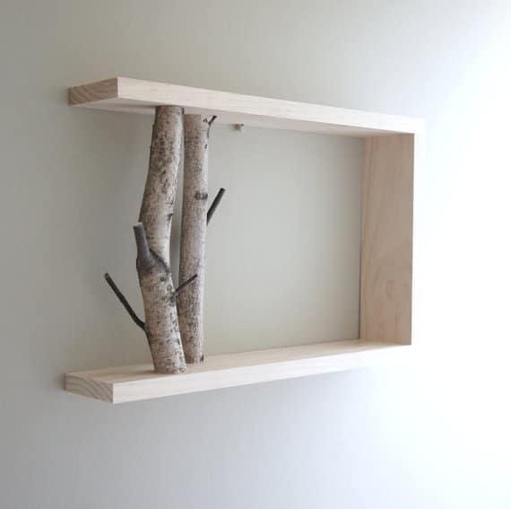 Decoratie slaapkamer hout foto op hout zelf decoratie maken met onze diy tip brocante - Houten interieurdecoratie ...