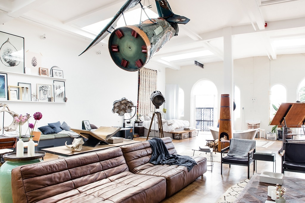 The loft in amsterdam interieur insider for Interieur loft