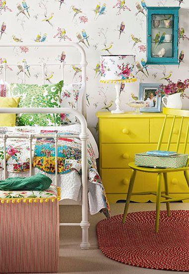 Retro slaapkamer lampen : Vintage meubels slaapkamer Interieur Insider