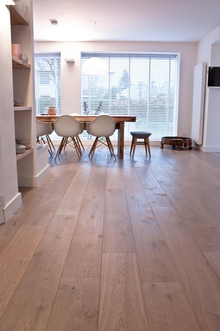 Houten vloer interieur voorbeelden inspiratie for Interieur vloeren