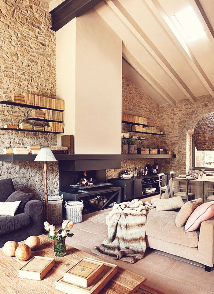 Warme kleuren in woonkamer interieur insider for Warme woonkamer inrichting