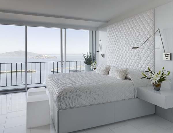 Moderne slaapkamer inrichting