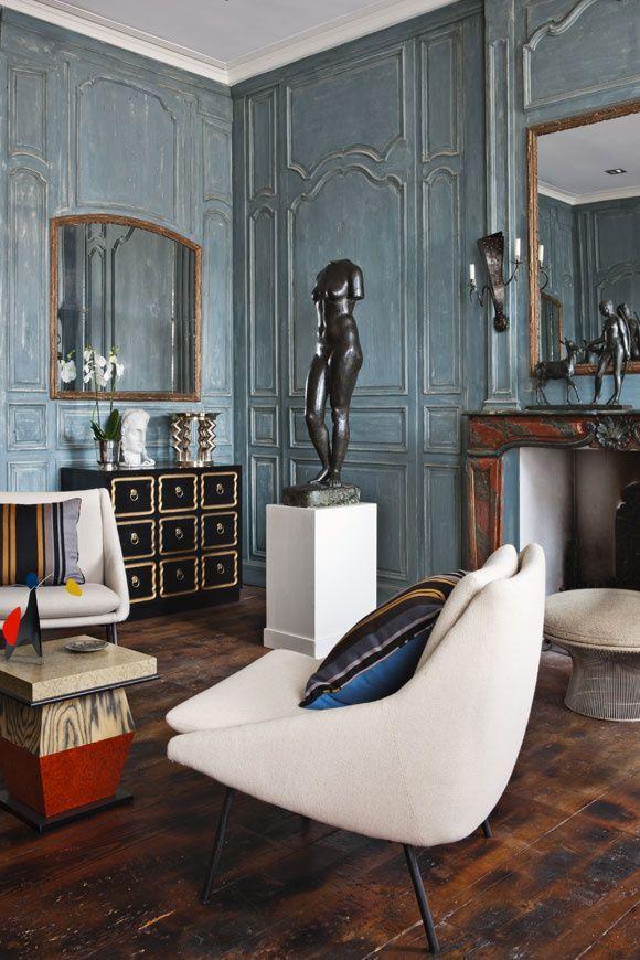 klassieke inrichting woonkamer  interieur insider, Meubels Ideeën