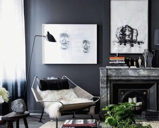 zwarte muur woonkamer Archieven - Interieur Insider