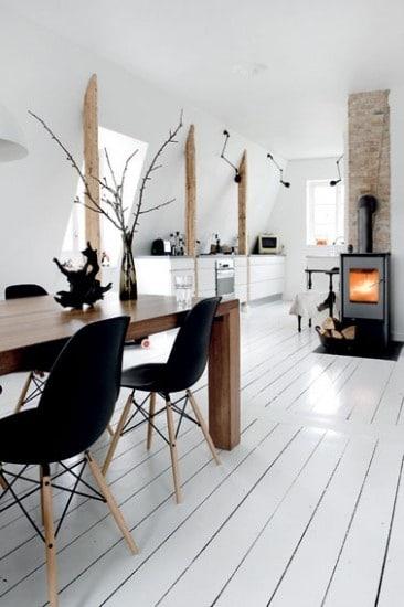 Keuken Hoekbank Met Tafel : Black White Wood
