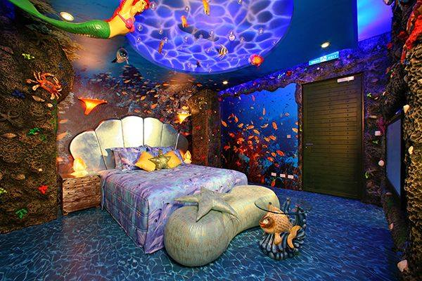 Jungle Thema Slaapkamer : Kinderkamer thema: onder water - Interieur ...