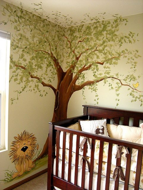 Jungle kinderkamer interieur insider - Thema baby boy kamer ...