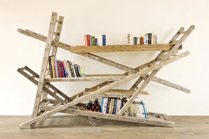 Ladder als accessoires gebruiken