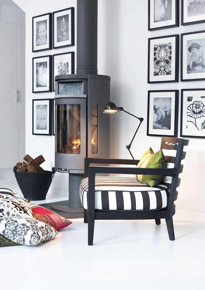 Zwart wit interieur woonkamer for Interieur zwart wit grijs