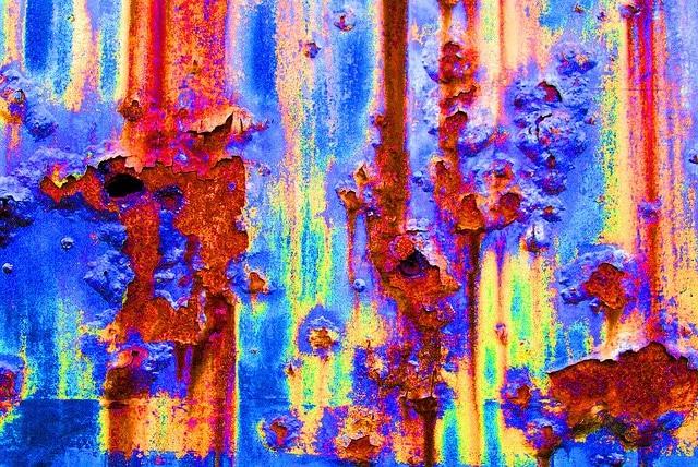 Textuur verf