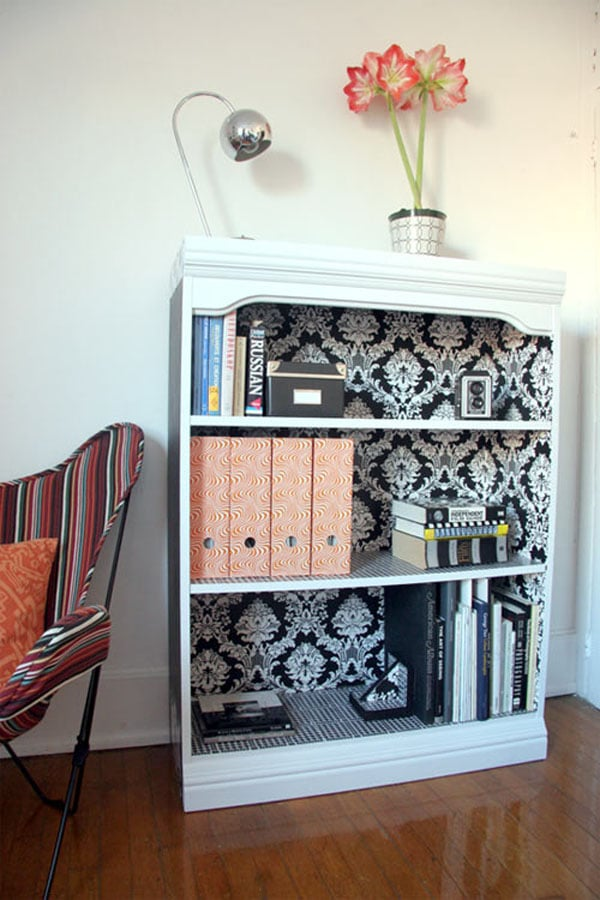Black-and-White-Bookself-presented-by-Apartment-Therapy