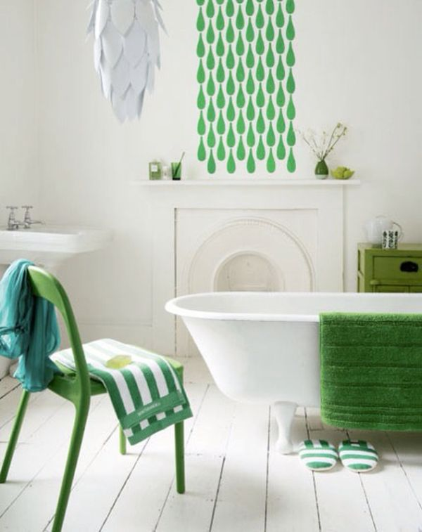Emerald-Green-bathroom