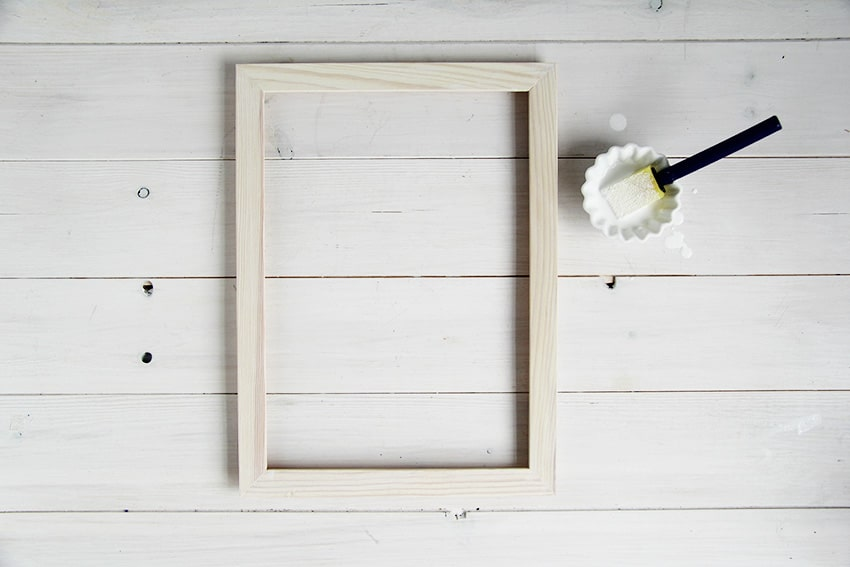 White-washed-picture-frames-ready-for-second-coat
