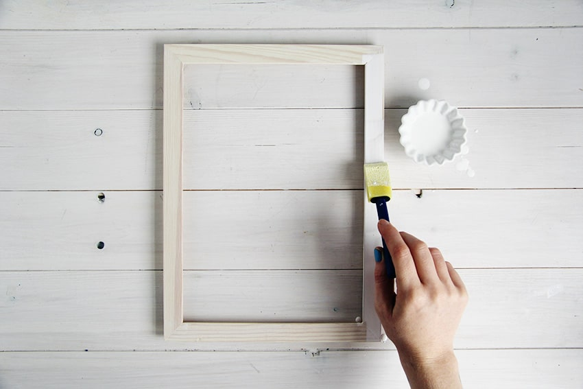 White-washed-picture-frames-second-coat