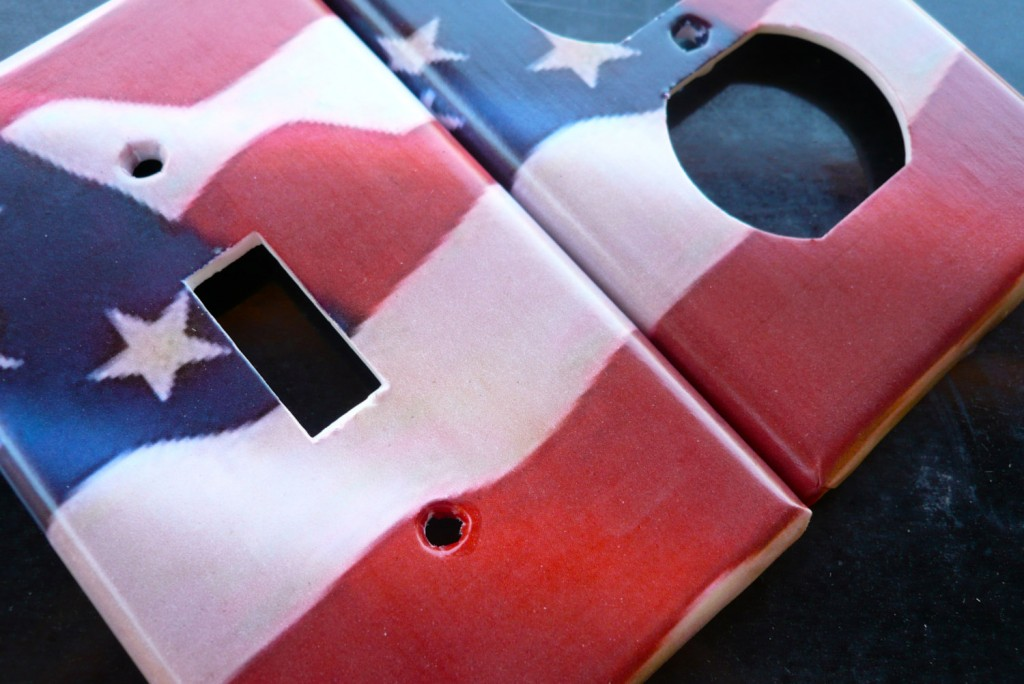 america-flag-outlet-cover-design