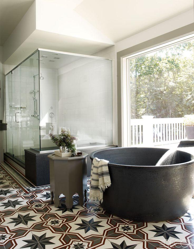 badkuip rond