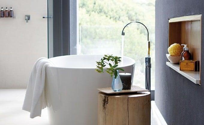 Ronde badkuip