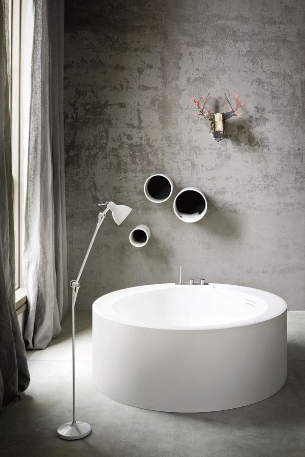 badkamer ronde baden