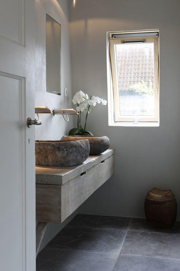 Landelijke badkamer voorbeelden interieur insider - Kleur idee ruimte zen bad ...