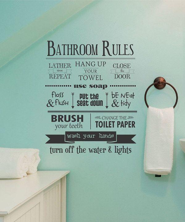 muursticker badkamer