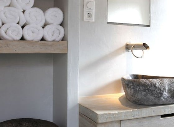Landelijke badkamer voorbeelden