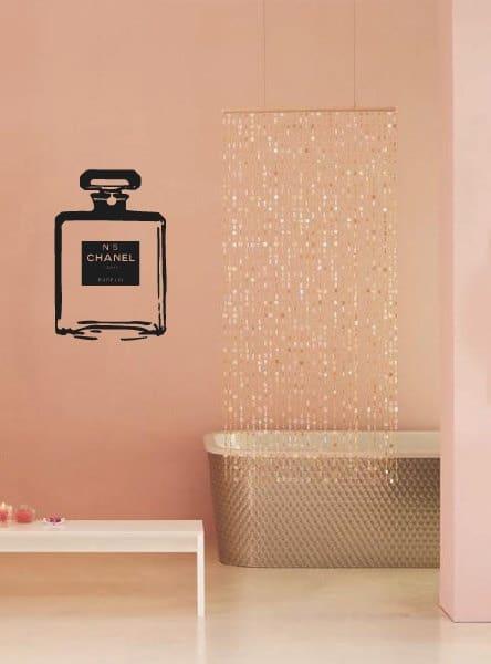 Muursticker badkamer - Badkamer kleur idee ...
