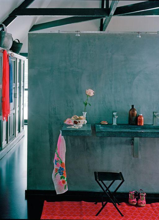 Kleurrijke badkamers ideeen