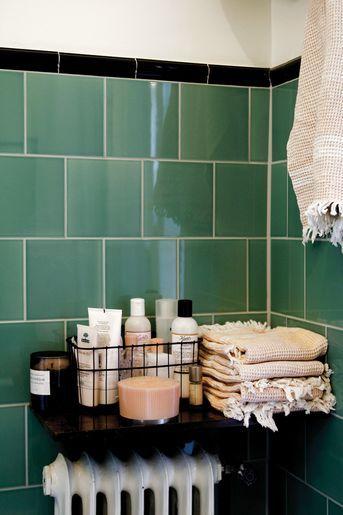 badkamer zwart