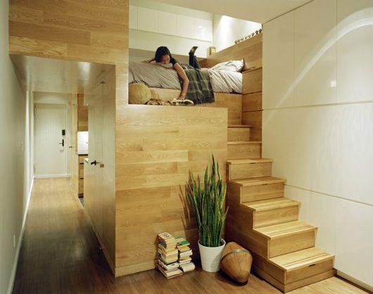 Ingebouwd bed interieur insider for Ingebouwd zwembad zelf maken