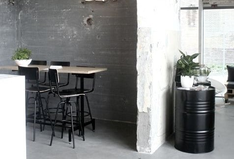 Badkamer Beton Interieur : Beton interieur u interiorinsider